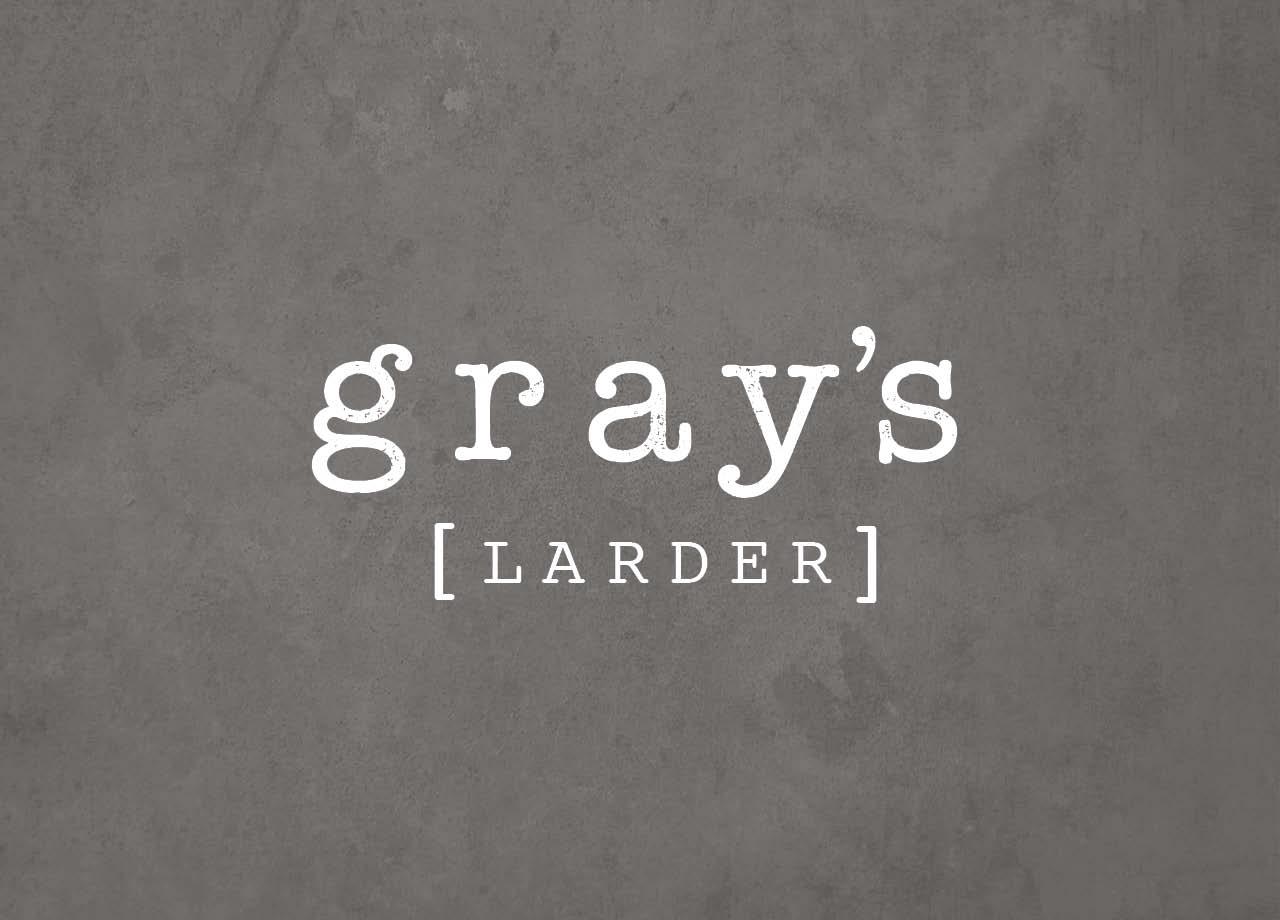 Grays Larder Branding