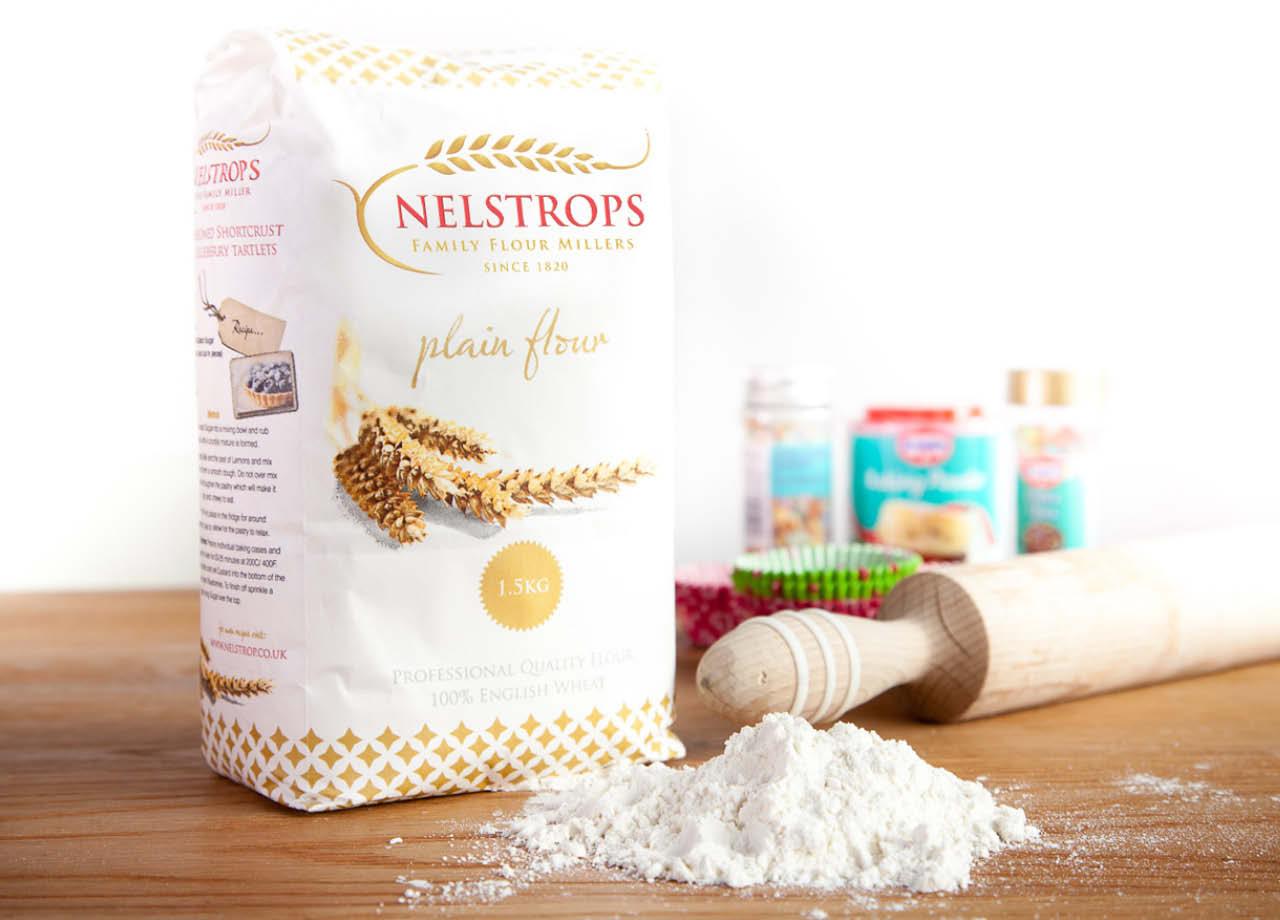 Nelstrops Lifestyle Flour Packaing