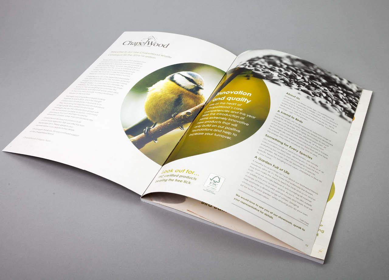 Chapelwood Catalogue