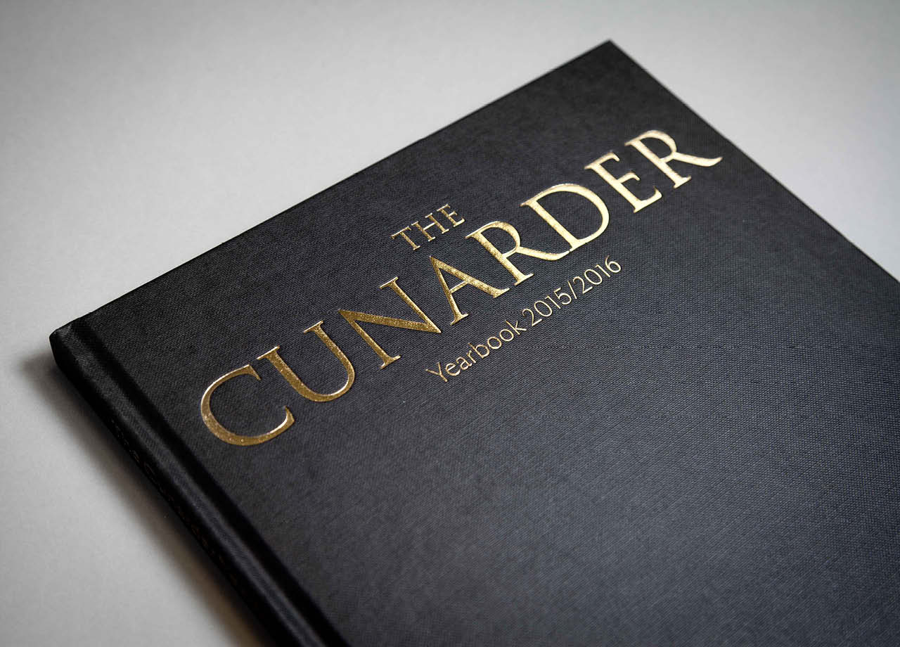 Cunarder Yearbook Cover