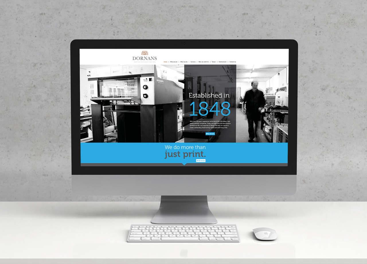 Dornans Website Desktop