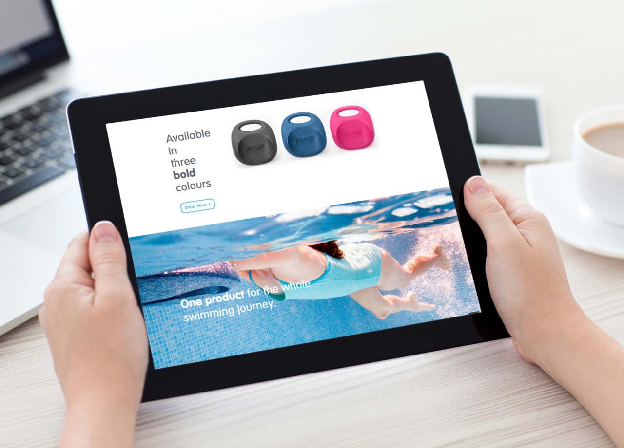 Mani Website iPad