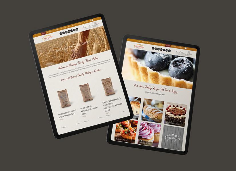 nelstrops-website-design
